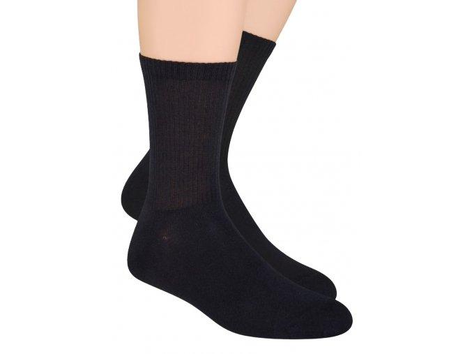 Pánské klasické sportovní ponožky jednobarevné 057