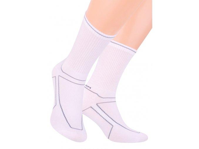 Pánské klasické sportovní ponožky s nápisem Power 057/165 STEVEN