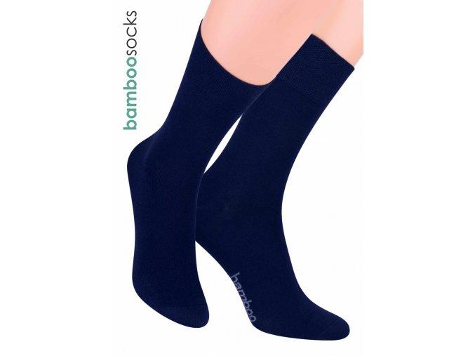 Pánské klasické ponožky z bambusového vlákna 086