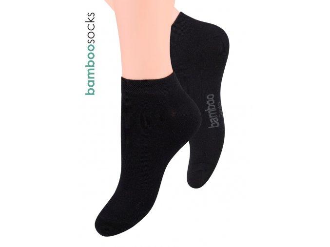 Dámské kotníkové ponožky z bambusového vlákna STEVEN