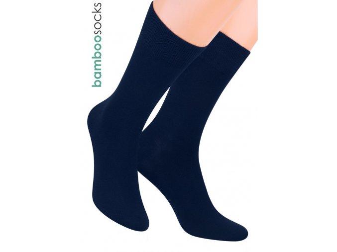 Pánské klasické ponožky z bambusového vlákna 124 STEVEN