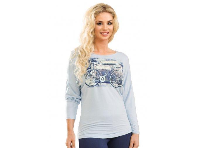Dámské tričko 56/2-12/A25 s obrázkem dámského kola Fabio