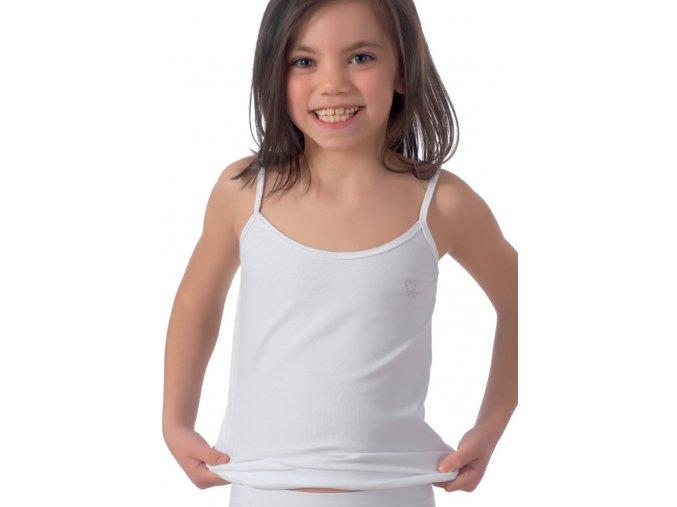 Dívčí košilka na úzká ramínka 090 Risveglia
