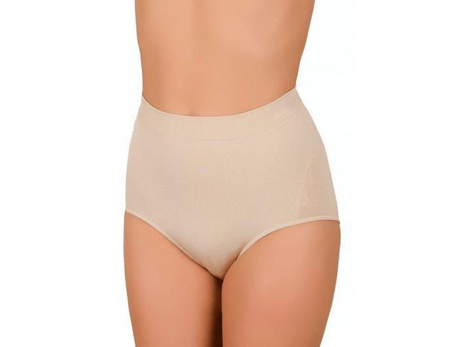 Dámské vyšší antibakteriální bezešvé kalhotky vzor 06-42 Hanna Style
