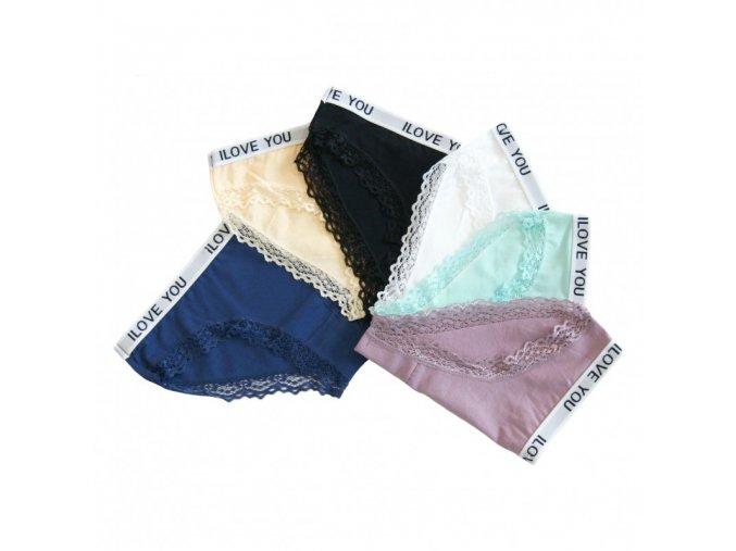 Francouzské kalhotky s krajkou