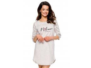 Dámská noční košile Rita s nápisem Milano Taro