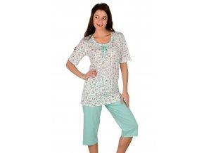 Dámské pyžamo Marynia s jemným vzorem Taro