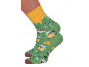 Dámské klasické ponožky 078/026 MORE