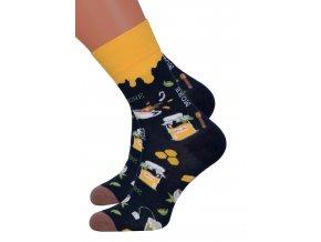 Dámské klasické ponožky 078/027 MORE
