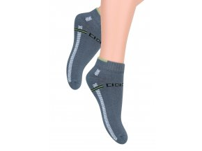 Chlapecké kotníkové ponožky s nápisem Speed 004/46