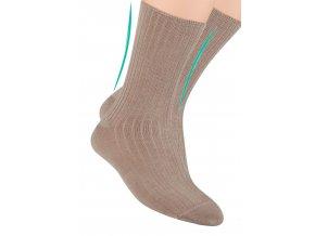 Pánské zdravotní ponožky z bambusového vlákna STEVEN