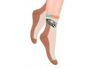 Chlapecké klasické ponožky s nápisem Soccer 014/133 Steven