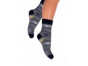 Chlapecké klasické ponožky.