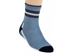 Chlapecké klasické ponožky se vzorem pruhu 014/907 Steven