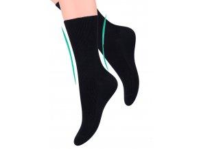 Dámské zdravotní ponožky žebrované STEVEN
