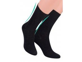Pánské zdravotní ponožky žebrované STEVEN