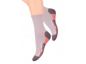 Dámské sportovní ponožky s nápisem Jump 98 Steven 026