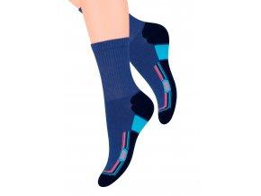 Dámské sportovní ponožky s nápisem Jump 99 Steven 026