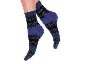 Dámské klasické bavlněné ponožky Steven 037/86