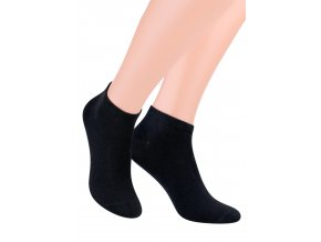 Pánské kotníkové ponožky jednobarevné 045 STEVEN