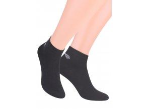 Chlapecké kotníkové ponožky sport jednobarevné 046/100 STEVEN