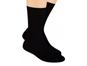 Pánské zdravotní ponožky s lemem 048 STEVEN