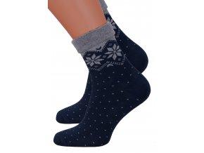 Dámské froté bavlněné ponožky Steven 053/59