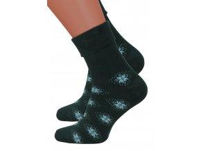 Dámské froté bavlněné ponožky Steven 053/61