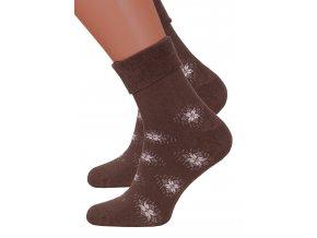 Dámské froté bavlněné ponožky Steven 053/62