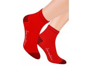 Pánské kotníkové ponožky sport s nápisem Foot evolution 054 STEVEN 110