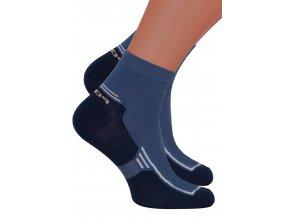 Pánské kotníkové ponožky 054/076 STEVEN
