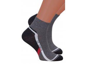 Pánské kotníkové ponožky 054/209 STEVEN