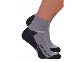 Pánské kotníkové ponožky 054/211 STEVEN