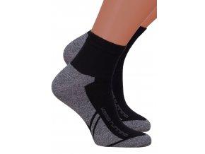Pánské kotníkové ponožky 054/212 STEVEN