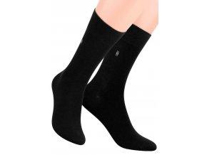 Pánské oblekové ponožky se vzorem kostek 056/2 STEVEN