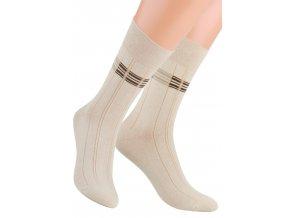 Pánské oblek ponožky se vzorem velké kostky STEVEN 056/7