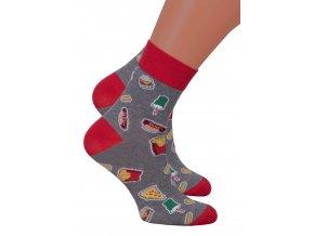 Chlapecké klasické ponožky 060/224 Steven