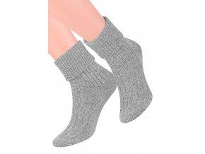 Dámské ponožky na spaní  s melírovaným vzorem 067/2 STEVEN