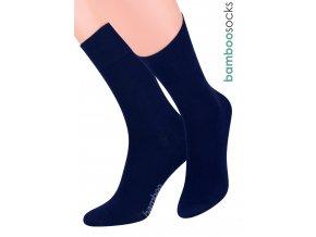 Dámské klasické ponožky z bambusového vlákna 086 STEVEN