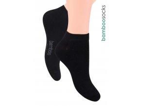 Pánské kotníkové ponožky z bambusového vlákna 094