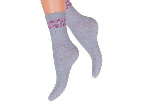 Dámské klasické ponožky Steven 099/545