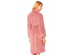 Dámský růžový soft župan Callisto Pink Envie