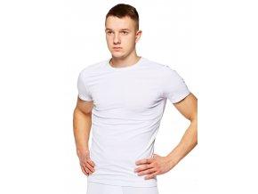 Pánské jednobarevné tričko s krátkým rukávem 02 Fabio