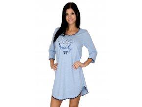 Dámská noční košile 345 s nápisem Regina
