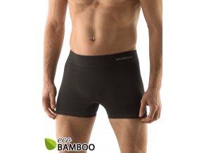 Bambusové pánské boxerky delší nohavička 54005P