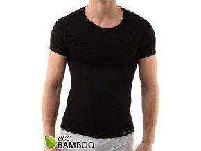 Bambusové tričko pánské, krátký rukáv 58006P