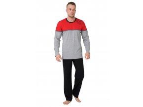 Pánské pyžamo Denis s nápisem Seafarer & boats M-Max