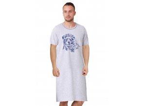 Pánská noční košile Lew s obrázkem lva M-Max