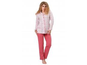 Dámské pyžamo Rica se vzorem M-Max