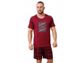 Pánské pyžamo Conan se vzorovanými kraťasy M-Max